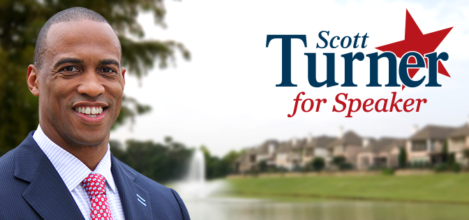 Who is Publicly Supporting Scott Turner For Texas Speaker of the House?